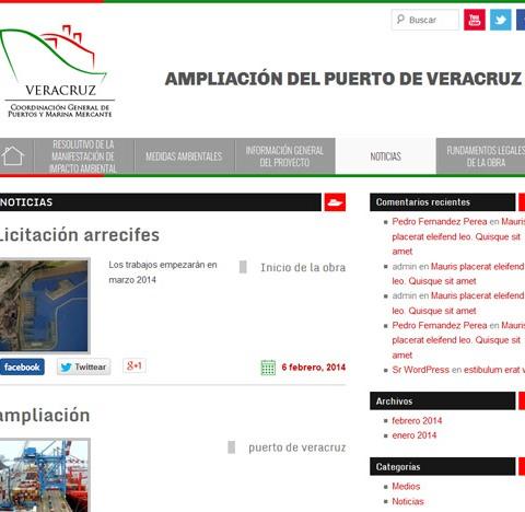 Ampliación dle Puerto de Veracruz