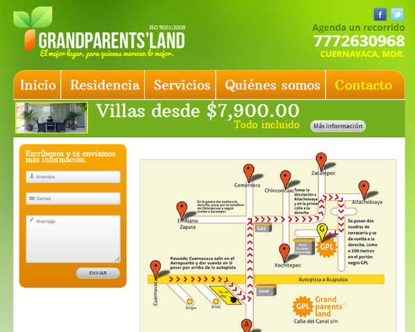 Contacto Grandparents' Land