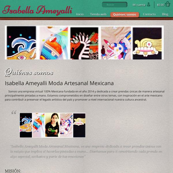 Artículo Isabella Ameyalli