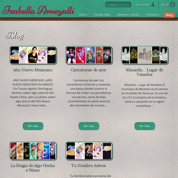 Blog Isabella Ameyalli