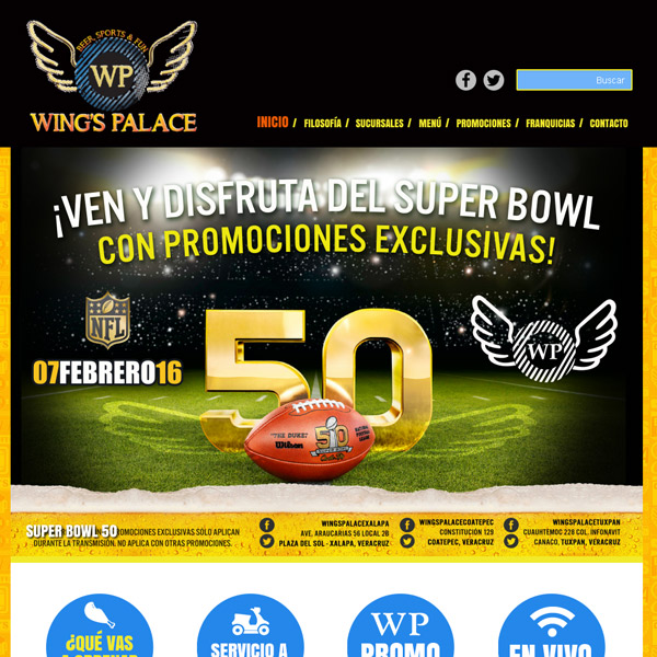 Portada Wings Palace